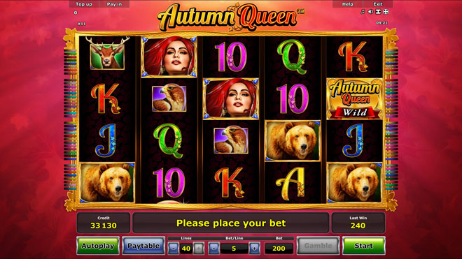 vlt gratis autumn queen