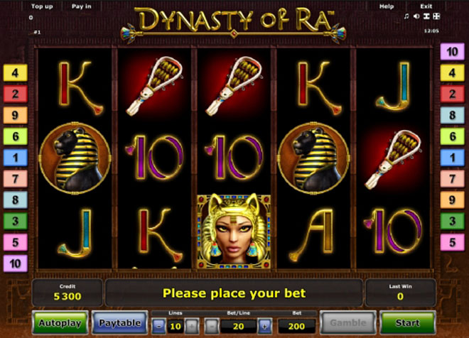vlt gratis dynasty of ra