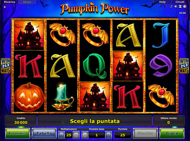 vlt Pumpkin Power gratis