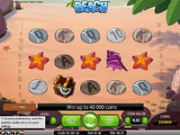 schermata slot machine beach