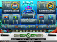 paytable slot online fishy fortune