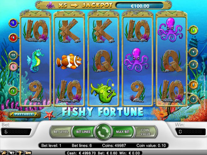 fishy fortune gratis