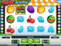 griglia slot machine fruit shop