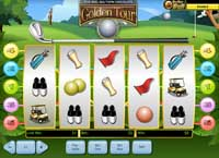 schermata slot online golden tour