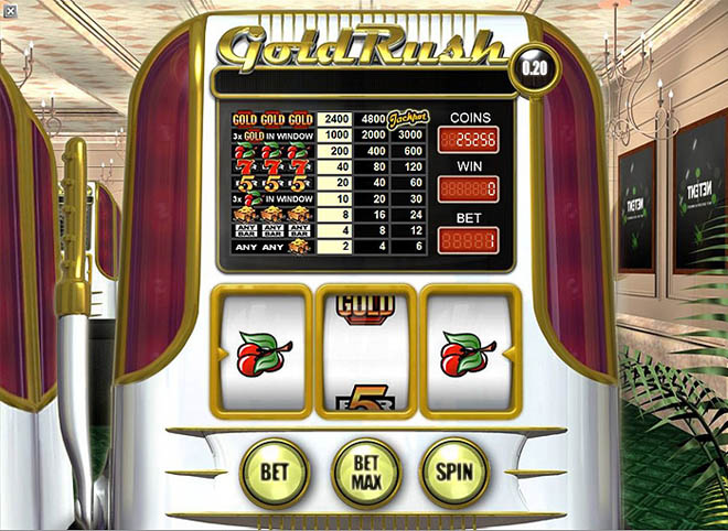 slot machine gratis gold rush