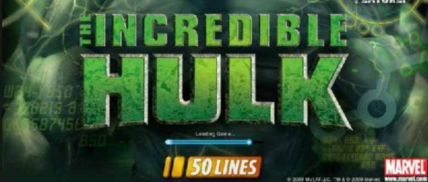 slot the incredible hulk 50 lines gratis