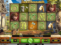 schermo slot jack and the beanstalk