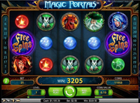 schermo slot magic portals