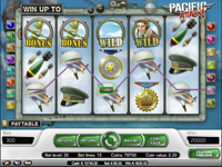 griglia slot machine pacific attack