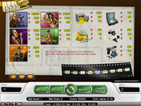 tabella vincite slot machine reel steal