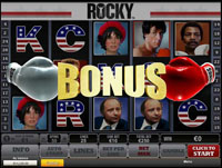 bonus slot machine rocky