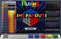 paytable slot machine rubik's riches