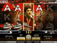 schermo slot machine scarface
