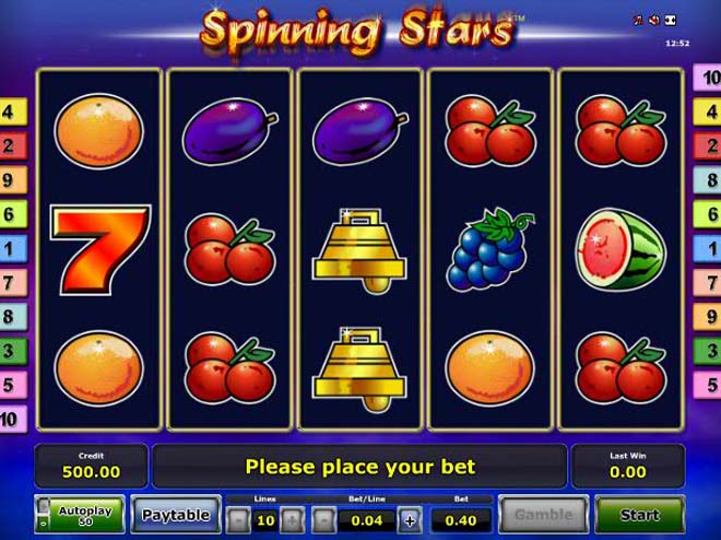spinningstars gratis
