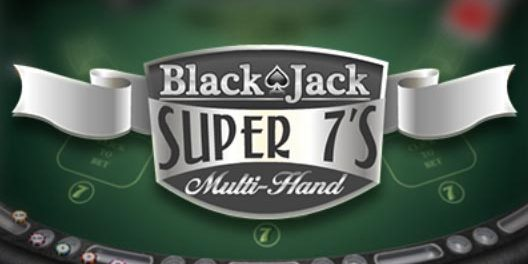 blackjack super 7's multihand gratis