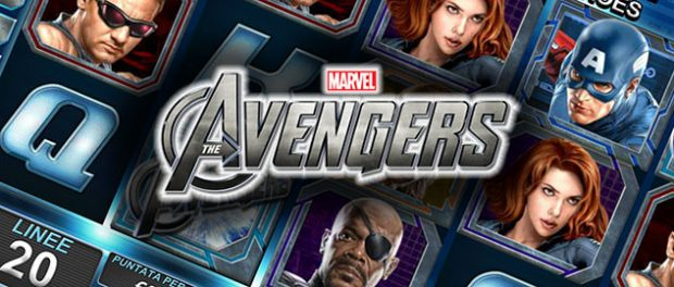 slot the avengers gratis