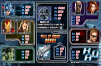 tabella pagamenti slot machine the avengers