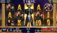 schermo slot machine thor the mighty avenger