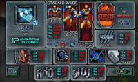 paytable slot wolverine