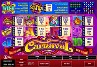 paytable slot online carnaval