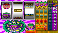 griglia slot machine cash clams