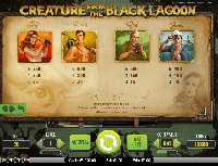 tabella vincite slot gratis creature from the black lagoon