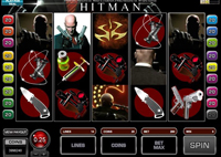 schermo slot machine hitman