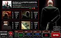 paytable slot online hitman