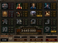 tabella vincite slot machine immortal romance
