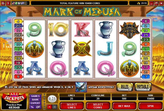 demo slot mark of medusa