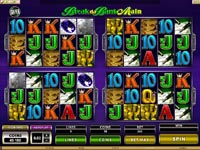 schermata slot machine megaspin break da bank again