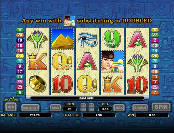 demo gratis vlt queen of the nile 2