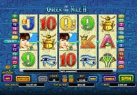 schermo slot queen of the nile 2