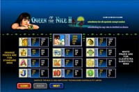 tabella pagamenti slot machine queen of the nile 2