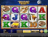 griglia vlt treasure quest