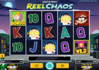 griglia slot south park reel chaos