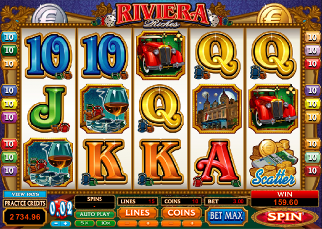 demo slot free riviera riches