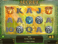 schermo slot secret of the stones