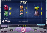 tabella vincite slot machine space wars