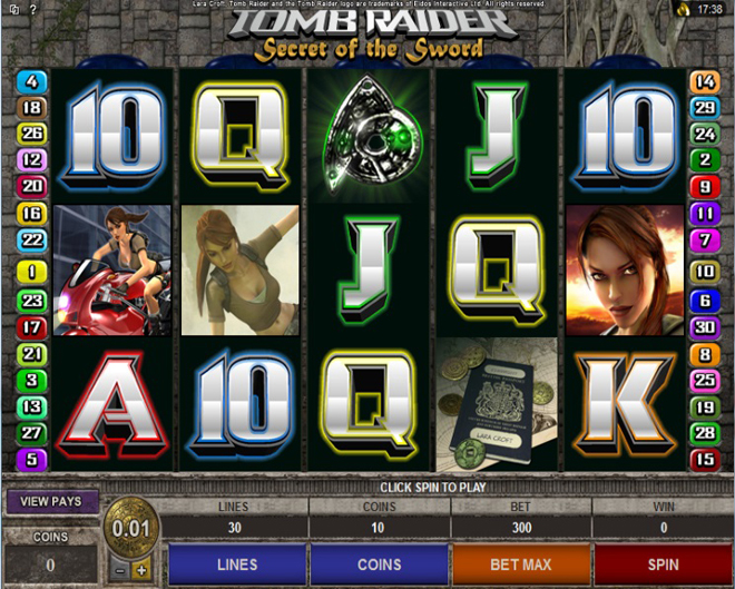 slot tomb raider 2 gratis
