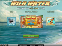 paytable slot machine wild water