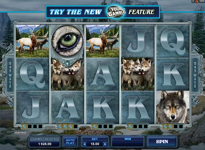 demo slot gratis untamed wolf pack