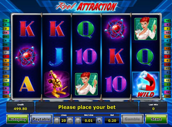 vlt gratis reel attraction