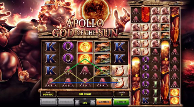 vlt gratis apollo god of the sun
