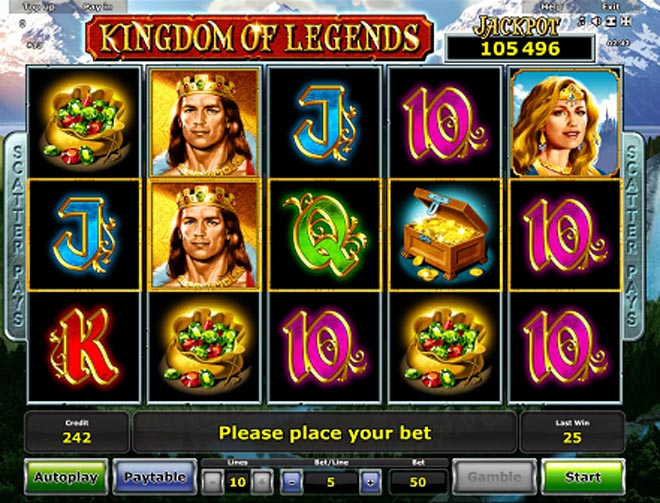 demo vlt gratis Kingdom of Legends