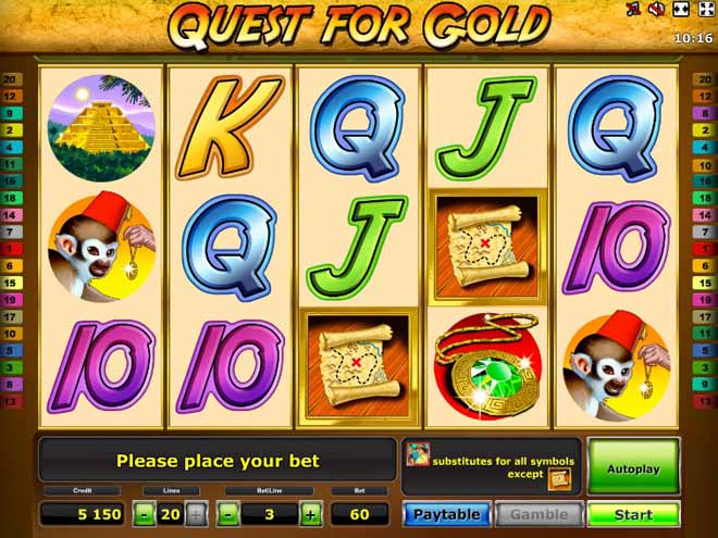 slot gratis quest for gold